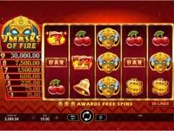 9 Masks of Fire Slots